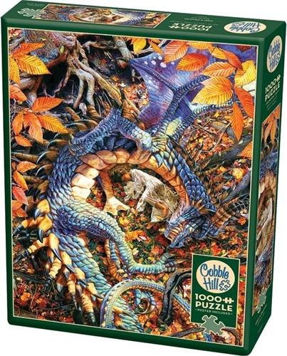 Cobble Hill puzzle 1000 pieces - Abby's Dragon