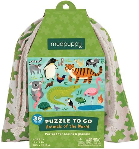 Mudpuppy 4598 Puzzle Puzzlespiel 36 Stück(e)