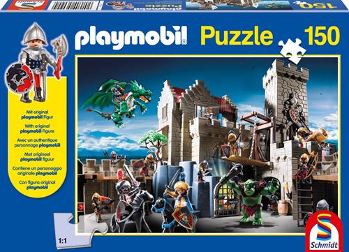 Schmidt Spiele Playmobil: Kampf um den Königsschatz Puzzlespiel 150 Stück(e)