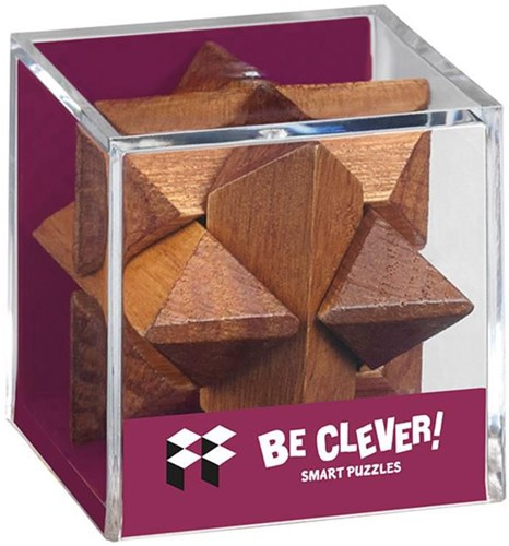 Moses Be clever! Smart Puzzels blank hout maxi 6 assorti