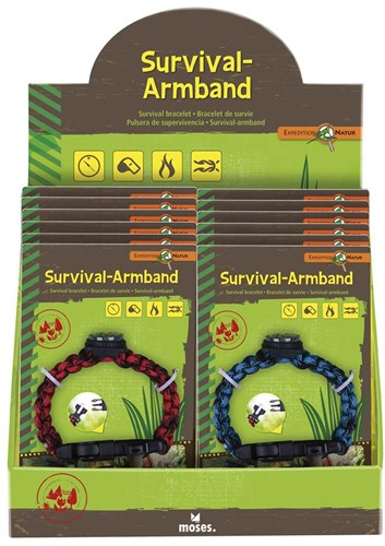 Moses Expeditie Natuur survival armband 2 assorti