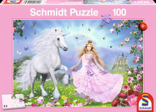 Schmidt Spiele Prinzessin der Einhörner Puzzlespiel 100 Stück(e)