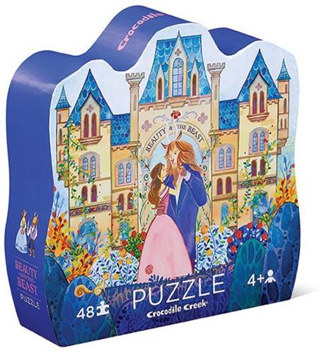 Crocodile Creek puzzel 48 stukjes Tell me story - Beauty&Beast