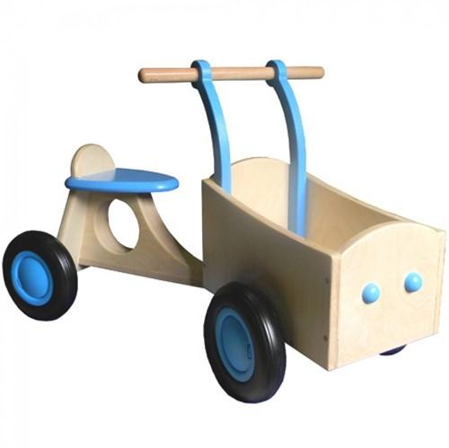 Van Dijk Toys Holz Lieferrad Hellblau