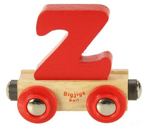 Bigjigs Rail Name Letter Z (6)