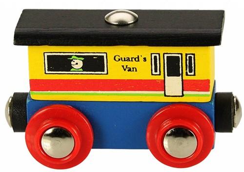 Bigjigs Rail Name Guards Van (6)