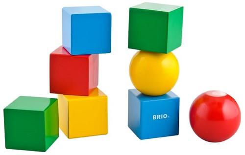 Brio Magnetische Holzbausteine 30123