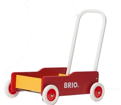 Brio Holz Lauflernwagen gelb-rot 31350