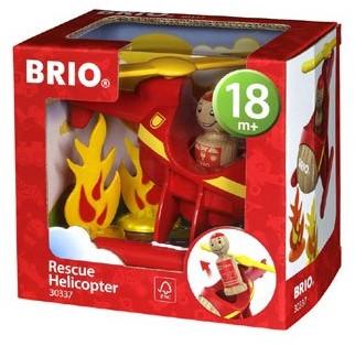 Brio Spielfahrzeug My Home Town - Feuerwehrhelikopter 30337