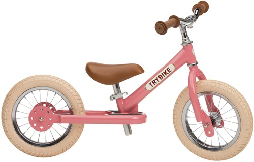 Trybike Laufrad Steel Vintage Rosa - Zweirad