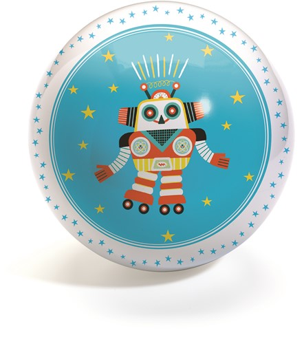 Djeco Funky Robots Ball Ø12 cm