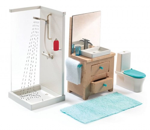 Djeco Maisons de poupées La salle de bain