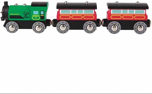 Hape Holz Eisenbahn Dampf-Personenzug