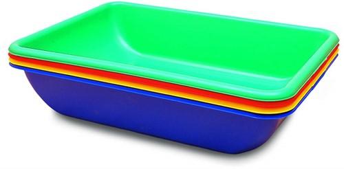 Edushape Aktivitäts-Tubs -4 Stück im Set - Farben sortiert OF Edushape Wasser und Sand spielen