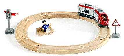 Brio Holz Eisenbahn Set Bahn starter Set Personenzug 33511