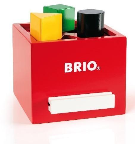 Brio Holz Lernspiel Rote Sortier-Box 30148