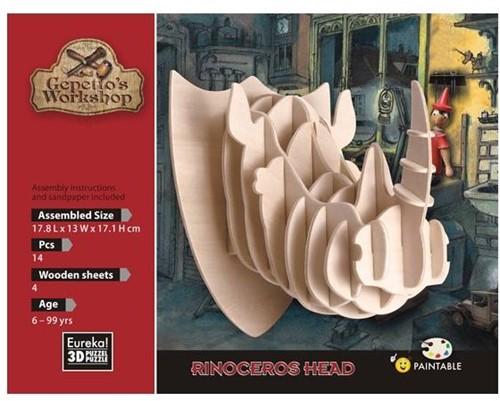 Gepetto's Workshop Rinoceros Head