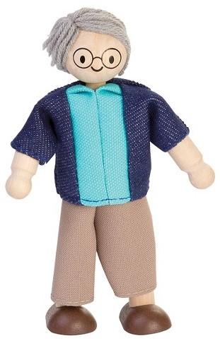 Plan Toys  Holz Puppenhaus Puppen Großvater