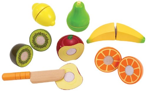 Hape Holzküche Zubehör Frische Früchte
