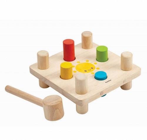 Plan Toys Holz Lernspiel Hammerspiel 5126