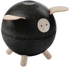 Plan Toys  Kindermöbel Spardose Sparschwein - Schwarz