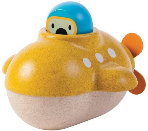 Plan Toys Holz Badespielzeug U-Boot