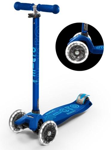 Maxi Micro step Deluxe LED marineblauw