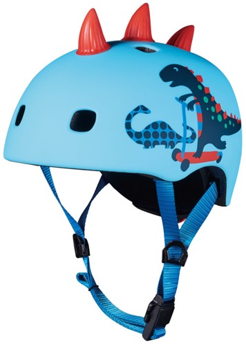 Micro Roller Helm 3D Dino Größe M
