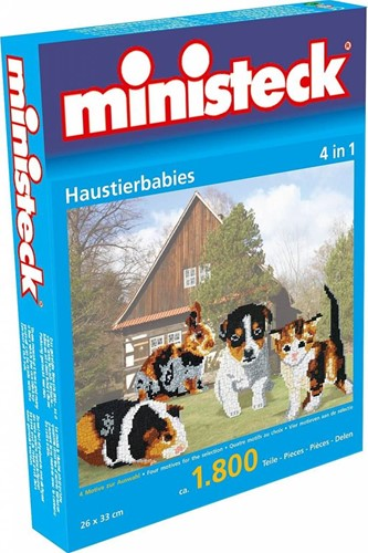 Ministeck Pet babies 4in1 XL Box - ca. 1.800 pieces
