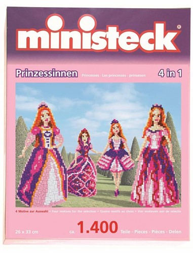 Ministeck Princess 4in1 XL Box - ca. 1.400 pieces