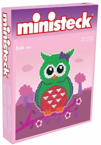 Ministeck Owls assortment - XL Box - 3 ass. style - ca. 1000 pieces