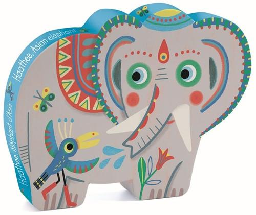 Djeco Haathee, éléphant d'Asie - 24 pcs