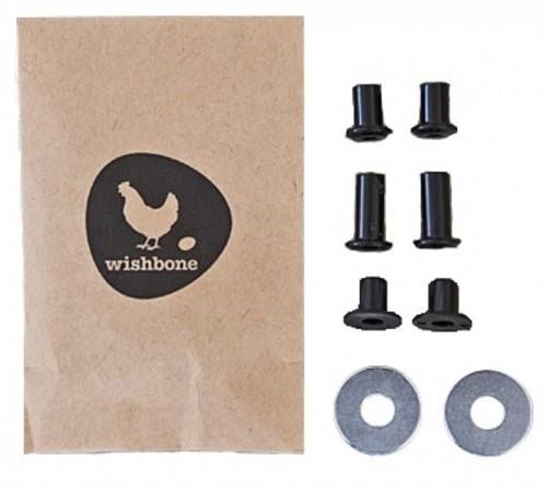 Wishbonebike  Laufrad Zubehör Kleine Ersatzteile für Achse