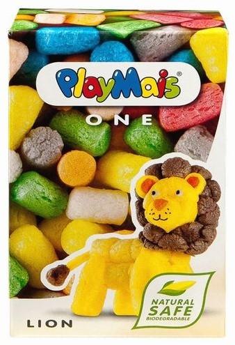 PlayMais  knutselspullen One Leeuw