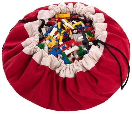 Play&Go 47.0001 Spielzeugaufbewahrung Toy storage bag Rot Freistehend