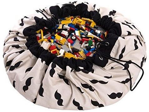 Play&Go 47.0008 Spielzeugaufbewahrung Toy storage bag Schwarz, Weiß Freistehend