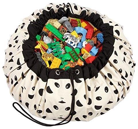 Play&Go 47.0013 Spielzeugaufbewahrung Toy storage bag Schwarz, Weiß Freistehend