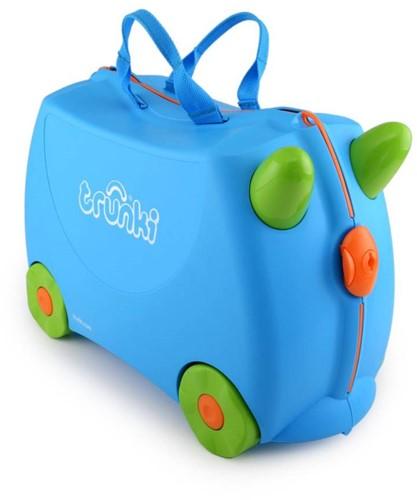 Trunki koffer Terrance blauw